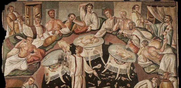 """Résultat de recherche d'images pour """"repas romain"""""""