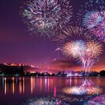 Feu d'artifice du lac Kir 2017 à Dijon : avec ou sans musique
