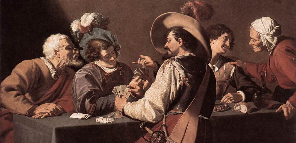 Les-Joueurs-de-cartes-Theodore-Rombouts