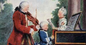 Quand Mozart, 10 ans, jouait à Dijon