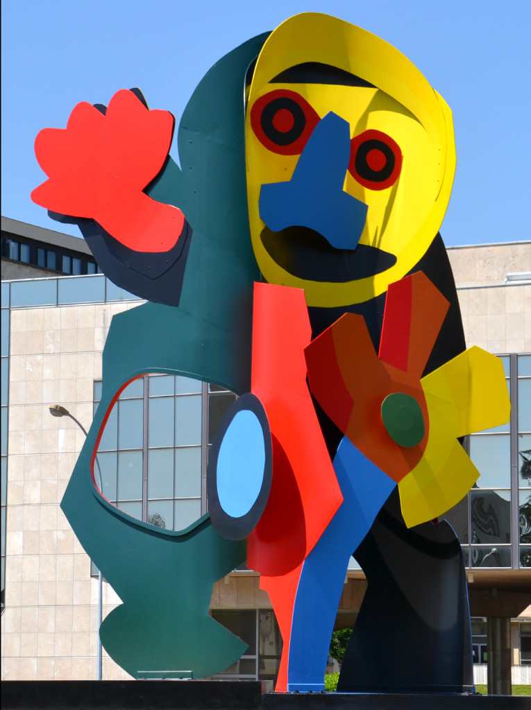 """Anti Robot"", de Karel Appel, 1976"