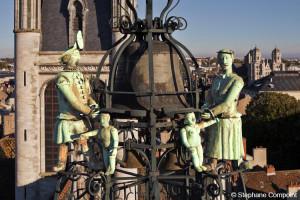 Le Jacquemart de Dijon, une histoire belge