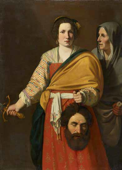 Judith tenant la tête d'Holopherne, Andréa Commodi