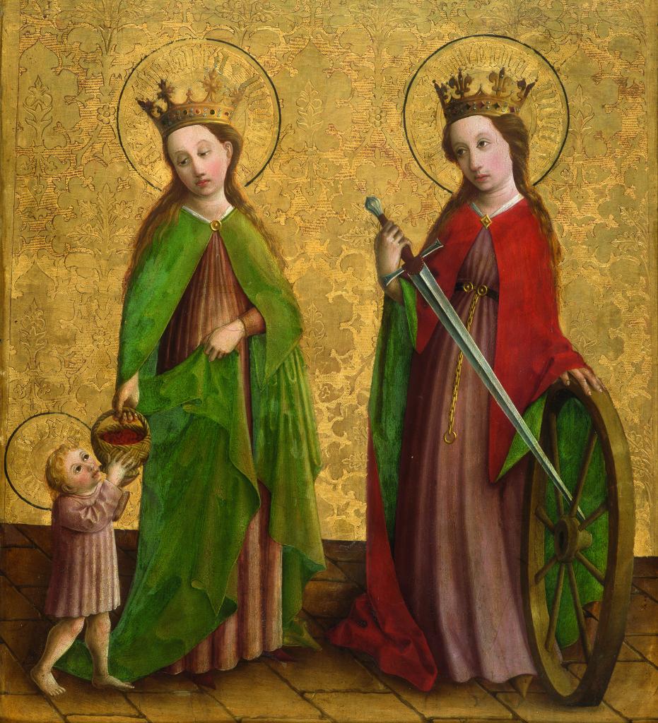 Sainte-Dorothee-et-sainte-Catherine-c-Musee-des-Beaux-Arts-de-Dijon-H-Maertens