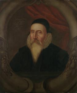 John Dee: portrait du XVIe siècle, réalisé par un anonyme.