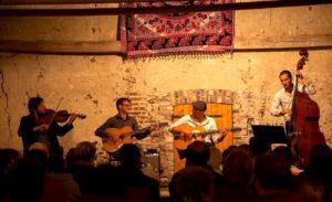 Apéro chic ibérique + concert Swing by Me