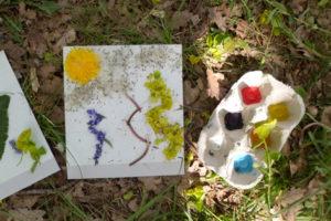 Chenôve – Atelier – « La forêt avec tous mes sens »