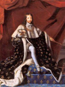 Le jeune roi Louis XIV en 1648, par Henri Testelin.