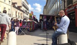 Braderie de rentrée 2018 au centre-ville de Dijon