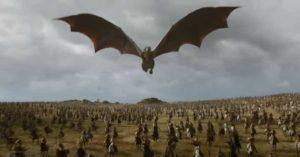 Le dernier épisode de Game of Thrones sur écran géant