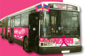 Octobre Rose : le bus rose