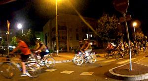 Balade nocturne à vélo