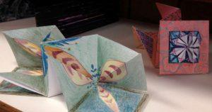 Atelier – Boîtes de papier