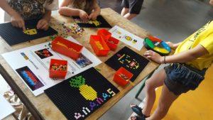 Pixel Musik Story – Atelier origami et pixel art