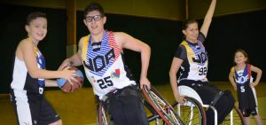 Téléthon défi basket