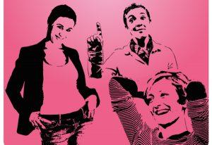 Spectacle – Les Instants Disjonctés – Trio d'impro Féminin