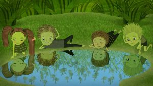 Projection-animation – « Willy et les gardiens du lac »