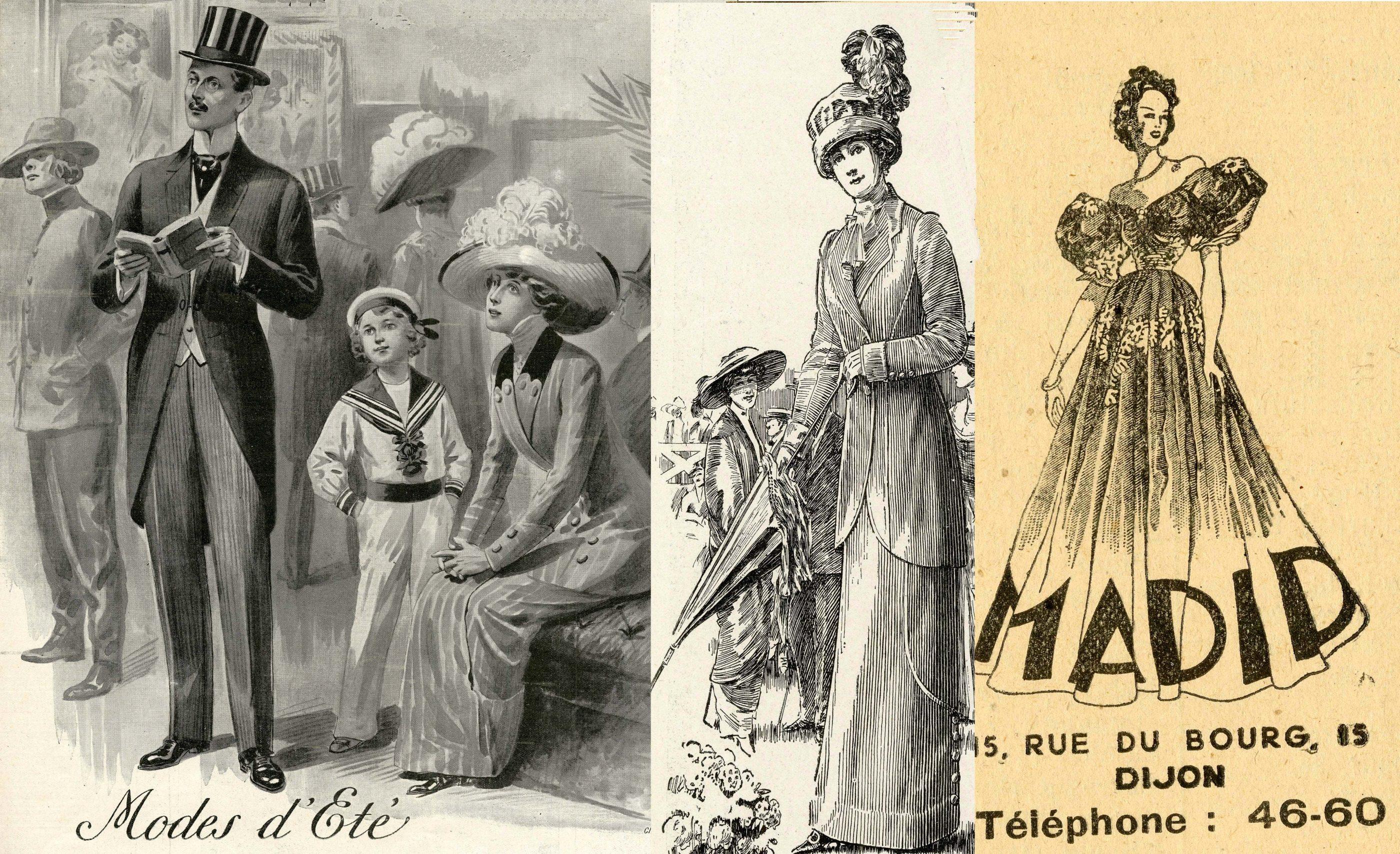 haut de gamme authentique haute qualité la clientèle d'abord Conférence – « L'évolution du vêtement féminin durant la ...