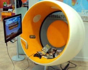 Sonic chair & jeux vidéo