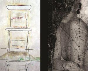 Vernissage de l'expo de Christine Curtenelle et Claire VanVostHuise