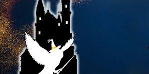 Harry Potter géant dans Dijon: Le grand tournoi des sorciers