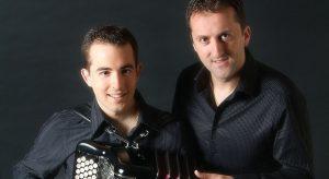 Repas – concert – «Accordion feeling» avec Sam Garcia et Fred Langlais