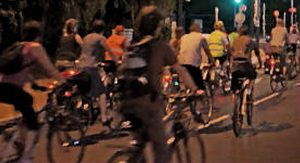Balade nocturne à vélo : «Le temps des cerises»