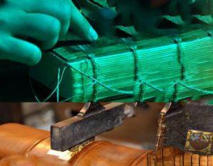 Exposition – Tranches plats et autres nerfs : un relieur à l'œuvre