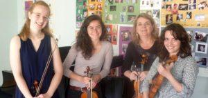 Repas – concert – Anne Mercier et les violons voyageurs