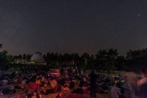 Observation publique du ciel avec la Société astronomique de Bourgogne