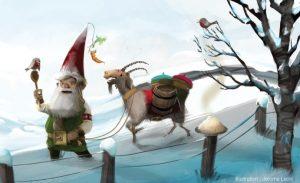 Spectacle – Noël scandinave – Compagnie du Colibri