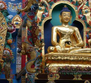 Exposition-vente d'artisanat himalayen