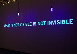 Conférence – Ce qui n'est pas visible n'est pas invisible