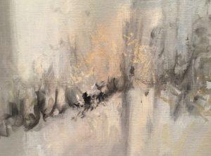 Vernissage de l'exposition de peintures de Matthieu Jacquin