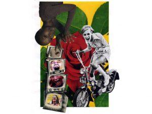 Ouges (ex-BA102) – Exposition-collage «White Rabbit»