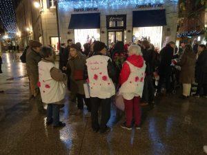 Rassemblement du mouvement «Nous voulons des coquelicots»