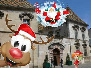 Marché de Noël à l'hôtel de Vogüé