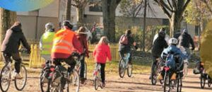 Balade à vélo- «Même en hiver, le plaisir de la ville !»