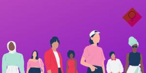 Rassemblement pour la journée des droits de la Femme
