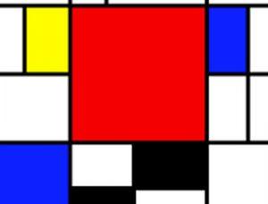 Atelier – À la manière de Mondrian…
