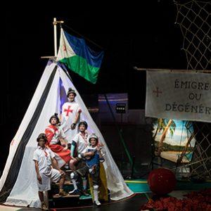 Théâtre – «La Bible, vaste entreprise de colonisation d'une planète habitable»