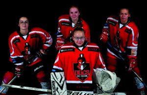 Premier tournoi de hockey sur glace 100% féminin