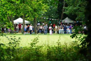 Fête de la musique au parc du Château de Pouilly