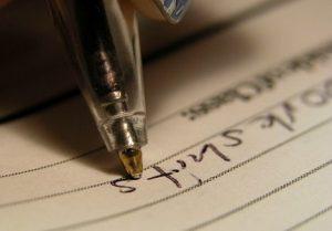 Atelier écriture créative