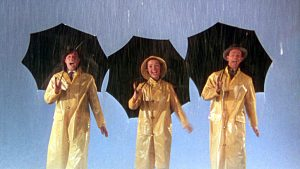 Ciné plein air – «Chantons sous la pluie»