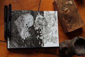 Asthenot – Création artistique en live