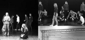 Restitution des classes théâtre du collège Montchapet