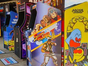 Arcades et réalité virtuelle au centre-ville
