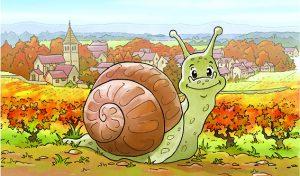 Dédicaces du livre «Le voyage d'un petit escargot de Bourgogne»