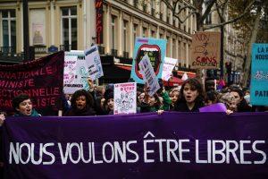 Manifestation contre les violences sexistes et sexuelles